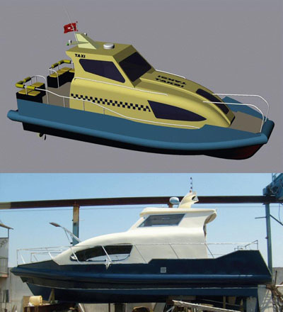 3D models of Sea Transportation